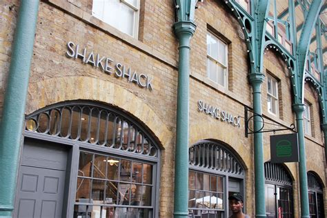 shake shack opens today  london  eats