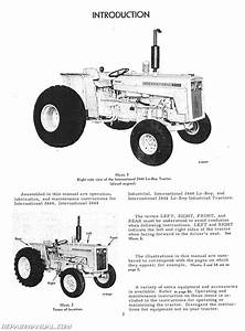 International Harvester Farmall 2444 Lo