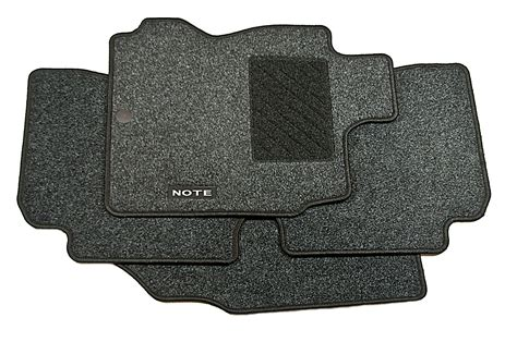 Nissan Note Car Mats - nissan note genuine car floor mats tailored textile front