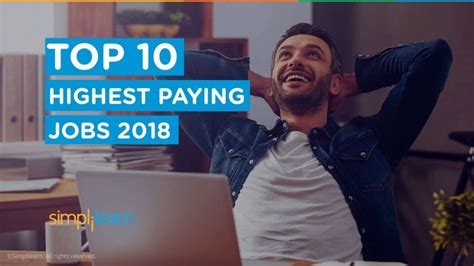 Top 10 Highest Paying Jobs In 2018