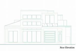 Modern, Plan, 3, 764, Square, Feet, 4, Bedrooms, 4, 5, Bathrooms