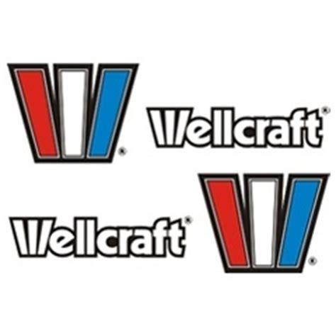 Wellcraft Boat Stickers by Wellcraft Boat Decals V20 Stickers Garzonstudio