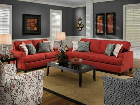 Decorating Dining Room Tables Grey Living Room With Red