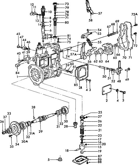 Ford Tractor Injector Diagram by 1600 White Tractor Parts Diagram Downloaddescargar