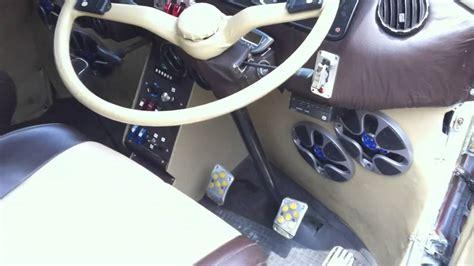 vw bus kombi interior custom seats power window dashboard