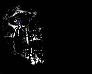 Evil Skull And Crossbones Wallpaper
