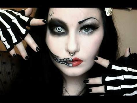 skelett schminken frau schminken 30 verbl 252 ffende ideen archzine net