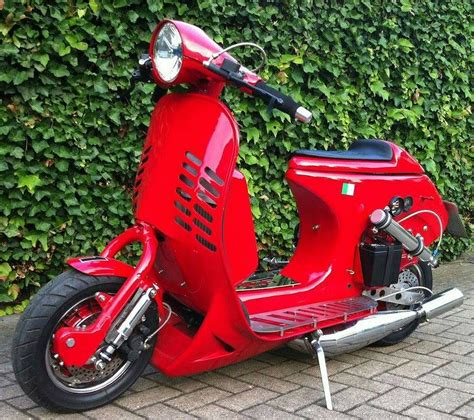 scooter vespa modified costuc cool mobmasker