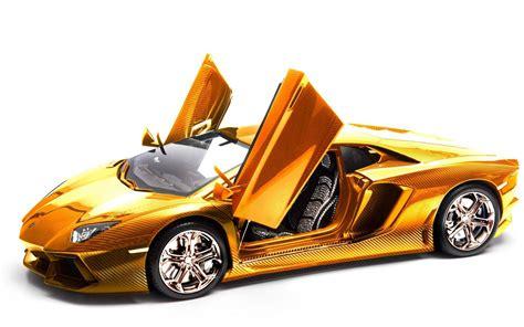 cool golden cars a solid gold lamborghini aventador for sale that s sure