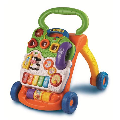 walker baby stand vtech sit learning carpet push toys walkers babies toy activity walk walking help children too