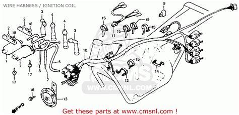Deere 750c Wiring Diagram by Honda Cb750sc Nighthawk 750 1982 C Usa Wire Harness