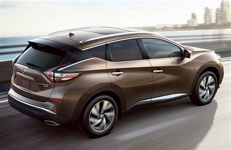 2017 Nissan Murano Performance Specs And Off-road Model