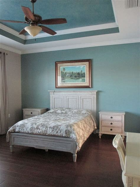 paint ideas  bedrooms  tray ceiling wall