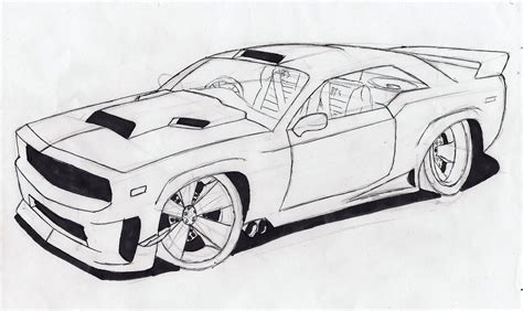 Muscle Car Sketches & Auto Art