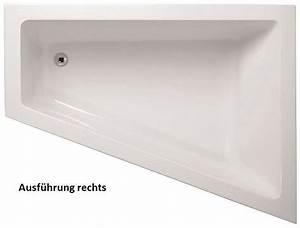Acryl Badewanne Kaufen : raumsparwanne 170 x 130 x 50 cm asymmetrische eckbadewanne 170 lieferumfang badewanne mit ~ Michelbontemps.com Haus und Dekorationen