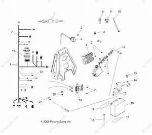 Polaris Atv 2007 Oem Parts Diagram For Electrical