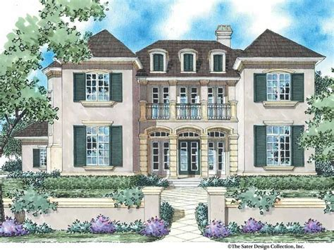 country style house plan  beds  baths  sqft plan   french country house
