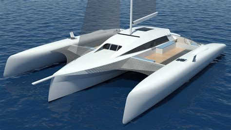 Catamaran Design News by New 15mts Tri By Schionning Designs Catamaran Racing