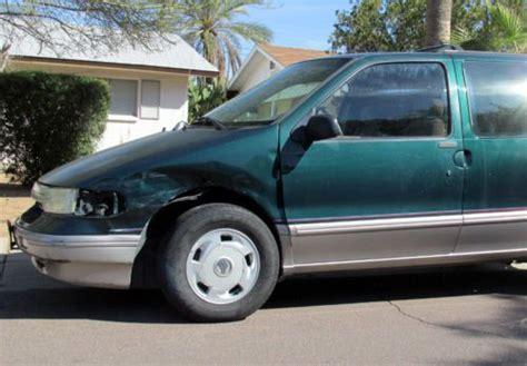 how cars engines work 1995 mercury villager user handbook find used 1995 mercury villager ls minivan no rust runs good but needs work in tempe arizona