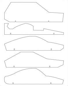 pinewood derby car template template business