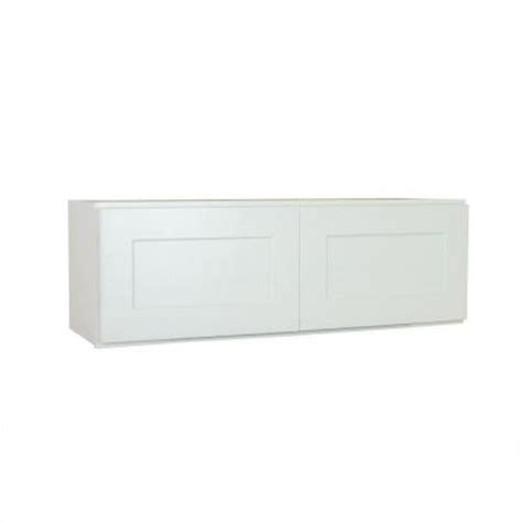 shaker cabinet doors home depot lakewood cabinets 36x15x24 in all wood refrigerator wall