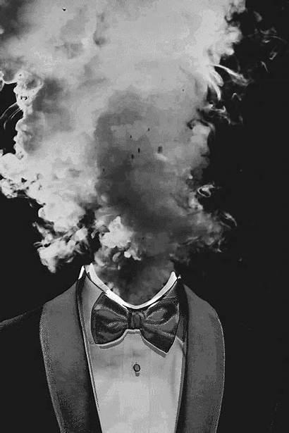 Dark Smoke Creative Head Exploding Fuck Talking