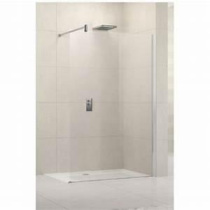 Paroi Douche Verre Sablé : paroi de douche fixe verre transparent 120 cm lunes h ~ Premium-room.com Idées de Décoration