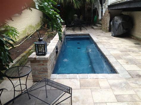 smallplungecocktail pools crystal pools  spas