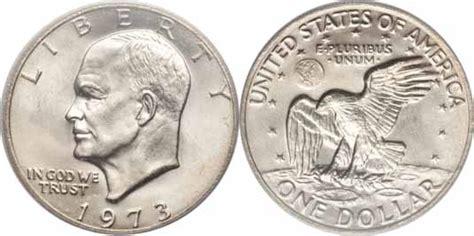 specifications eisenhower silver dollars 1973 eisenhower dollar values facts