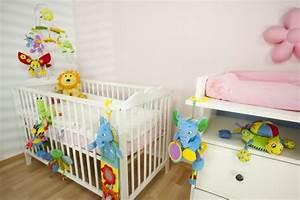 Couleur Chambre Bébé Fille : quelle est la meilleur id e d co chambre b b ~ Dallasstarsshop.com Idées de Décoration