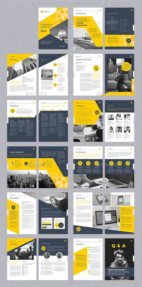Web Design Brochure Template by 20 Modern Style Brochure Catalogue Template Design