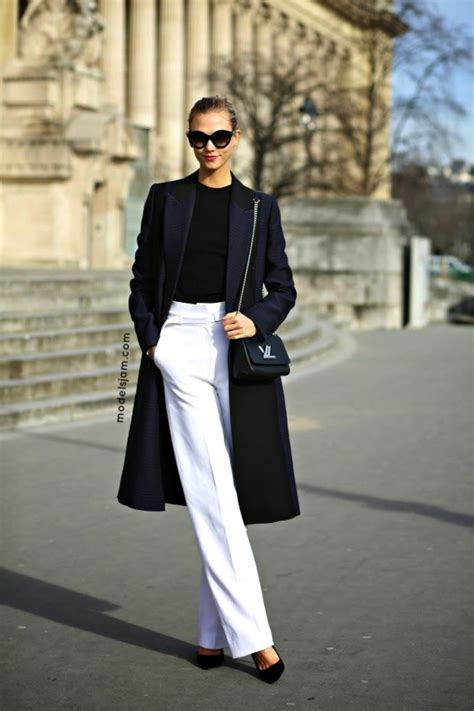 700 x 1050 archzine.fr. 1001 + idées pour une tenue avec pantalon blanc  fantastique ef5d21873e3