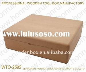 Plans For Hobby Tool Chest - Blueprints PDF DIY Download