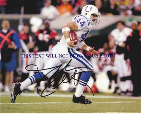 Dallas Clark Autographed 8x10 Rp Photo Indianapolis Colts