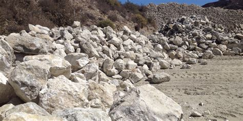 crushed rock decomposed granite path between drought
