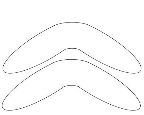 boomerang template boomerang template free to use aboriginal templates aboriginal education