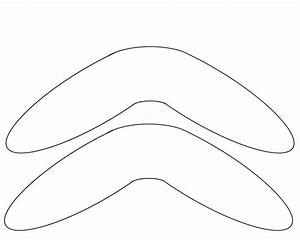 boomerang template free to use aboriginal art With australian boomerang template