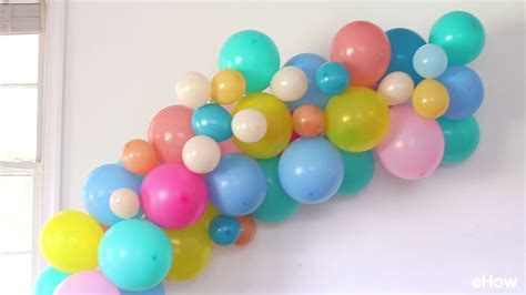 easy diy balloon party decoration ideas youtube