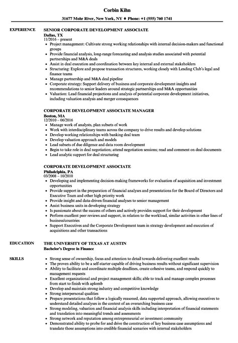 Corporate Development Resume  Resume Ideas. Sous Chef Resume. How To Fill A Resume. Resume Availability Section. In Resume Career Objective. Resume Business Plan. Hr Profile Resume. Writing Your Resume. Resume Template On Word