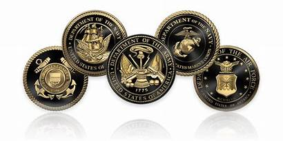 Military Veterans Branches Emblems Seals National Strong