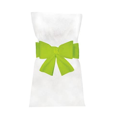 housse de chaise vert anis pas cher 6 noeuds pour housse de chaise vert lime déco mariage