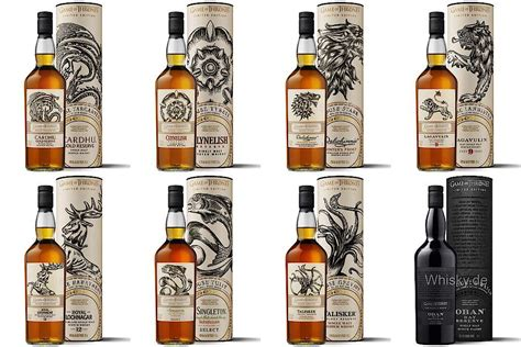 game  thrones single malt whisky collection pre orders