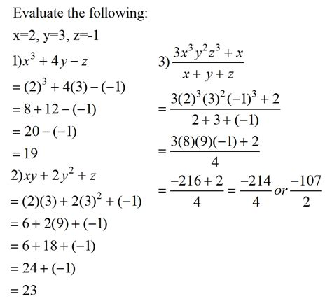 simplifying exponents worksheets chapter 3 algebraic expressions mr phi math