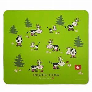 tapis de souris mumu cow alpage 9410 bazarouchycom With tapis de souris personnalisé avec canape geneve