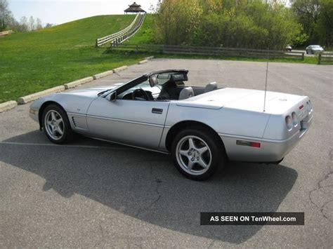 1996 Collectors Edition Corvette by 1996 Corvette Convertible Collectors Edition Autos Post
