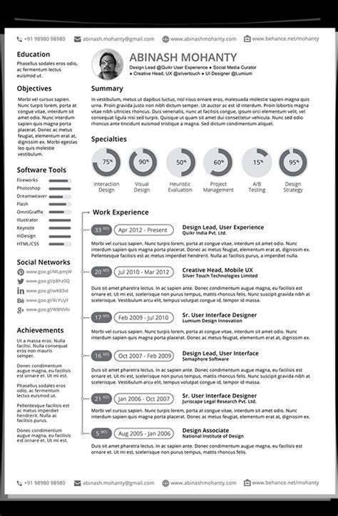 new resume templates 2015 printable templates free