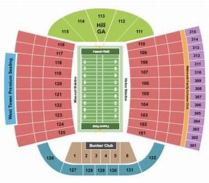 Faurot Field Tickets In Columbia Missouri Seating Charts