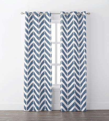 chevron curtains walmart mainstays chevron geo window curtains walmart canada