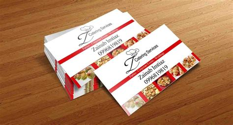 catering visiting card templates z catering business card my work in 2019 sle