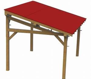 Abri De Terrasse En Bois : des abris terrasse en bois avec couverture au choix ~ Dailycaller-alerts.com Idées de Décoration